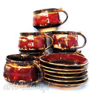 ceramika zestaw pani agnieszki uzupełnienie zaliczki, filiżanka, kubek, talerzyk