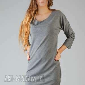sukienka kami 7, wygodna, swobodna, midi, modna, surowa ubrania