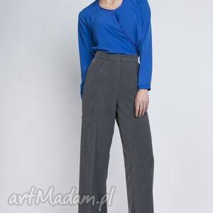 spodnie, sd111 grafit, szerokie, szwedy, eleganckie, sportowe, komunia, chrzciny