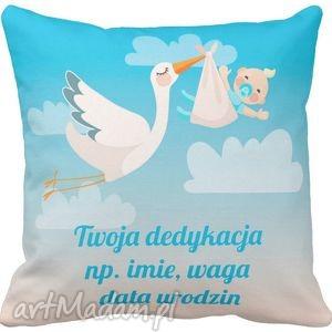 poduszka dla dziecka personalna twój napis 6568, chrzciny, prezent
