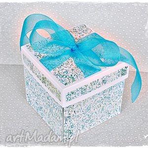 exploding box ślubny personalizowany, exploding, box, śubny, ślub, życenia, prezent