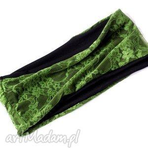 opaski opaska damska koronkowa zielona, opaska, koronkowa, mama, wiosna