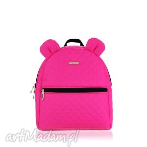 plecaczek farbiŚ 664 fuksja - farbiś, pojemny, mały, dziecko, plecaczek