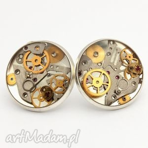 czas, zegary, steampunk biżuteria
