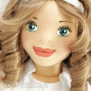 Prezent Lalka ręcznie szyta Matylda, lalka, handmade, rękodzieło, prezent, wystrój