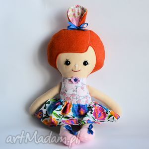 lalki lala umilka - zosia 45 cm, lalka, świnka, folk, romantyczna, dziewczynka