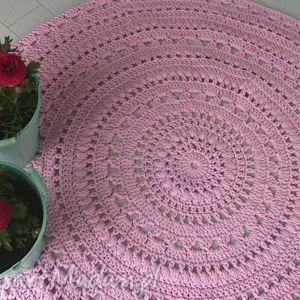 dywan do pokoju dziewczynki, dywan, różowy