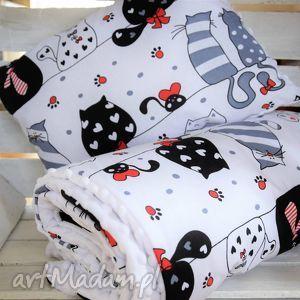 kocyk minky z poduszką - kocyk, minky, dziecka, łóżeczka, wózka