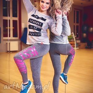 sportowe fajne modne wyszczuplające elastyczne legginsy getry rurki jest moc