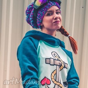 Follow Me! Snow, jesień, zima, czapka, handmade, włóczka
