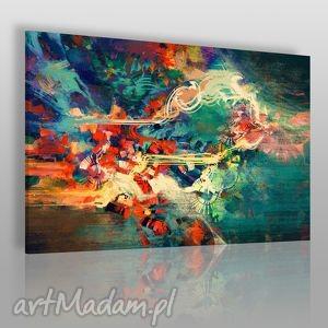 obraz na płótnie - abstrakcja nowoczesny 120x80 cm 22201 , nowoczesny