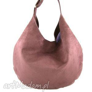 hobo purple, torebka, hobo, wygodna, pojemna na ramię, wyjątkowy prezent