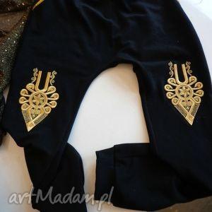 góralskie portki dresowe Folk Design Aneta Larysa Knap, folk, spodnie, dresy