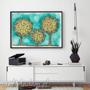 grafika drzewa a2, drzewa, plakat