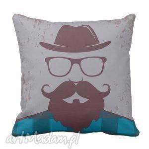 Poduszka Hipster Drwal pod-6317, hipster, minimalizm