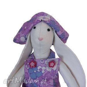maskotki królik typu tilda - klara, królik, tilda, króliczek, maskotka, zajączek