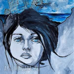 obrazy obraz na płótnie uwolnienie 70x100cm, obraz, wydruk, płótno, kobieta, portret