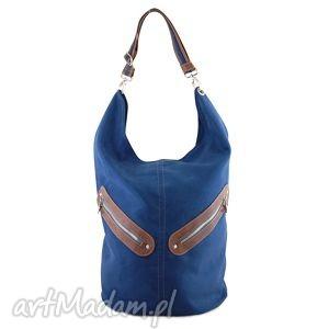 incat kofi - duża torba worek granatowa, worek, pojemna, duża, niebanalna, prezent