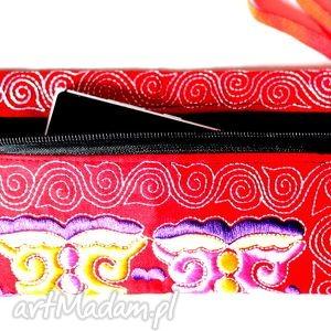 ruda klara hmong, dymanicznie, kolorowo, etnicznie m1, dokumenty torebki