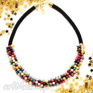naszyjniki naszyjnik perłowy glamorous, perłowy, naszyjnik, kolia, elegancki, retro