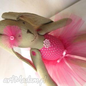 świąteczny prezent, baletnica amarantowa, balerina, baletnica, tutu, komunia, lalka