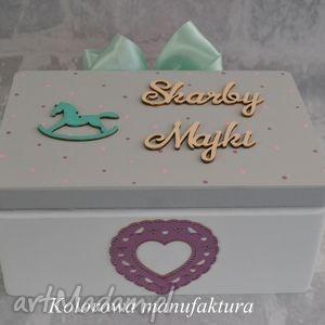 pudełko na skarby dziecka - 02 - pudełko, skarby, dziecko, urodziny, prezent