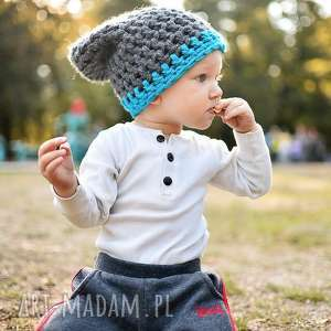 czapka inferiorek 07 - czapka, czapa, zima, dziecko, ciepła, kolorowa