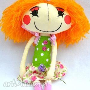 anolinka- ręcznie wykonana lalka z duszą , lalka, prezent, urodziny, handmade