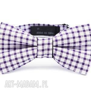 mucha purple classic, mucha, muszka, prezent, impreza, ślub, wesele, prezent na