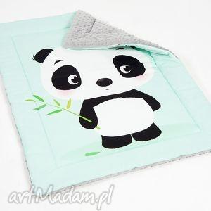 Kocyk minky - Panda 75x100 cm, kocyk, minky, kołderka