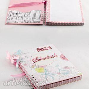 Prezent Pamiętnik - Sekretnik, pamiętnik, sekretnik, notes, handmade, prezent