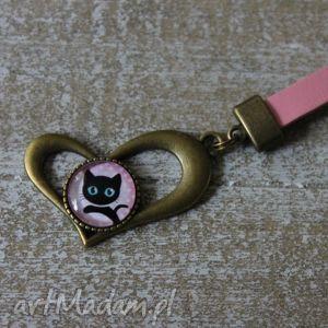różowy brelok serce, breloczek, serduszko, walentynki, damski breloki