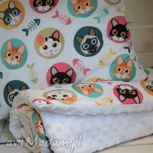 Kocyk minky 75x100 z poduszką, kocyk, minky, poduszka, spacer, spanie
