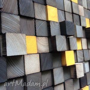 mozaika drewniana na zamówienie, obraz, drewniany, mozaika, płaskorzeźba, ściana