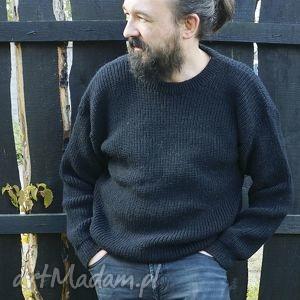 sweter wełniany męski gruby i ciepły, welna, alpaka, gruby, cieply, zima ubrania