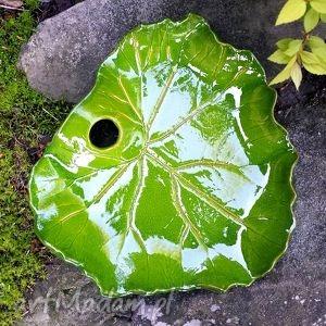 liść ceramiczna patera, talerz, liść, półmisek, misa, ceramiczny