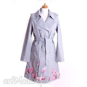 esse jewelry malowany ręcznie wiosenny płaszcz , płaszcz, malowanyręcznie, kobiecy
