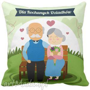 poduszka na dzień babci i dziadka dla kochanych dziadków 6695, poduszka, dzień