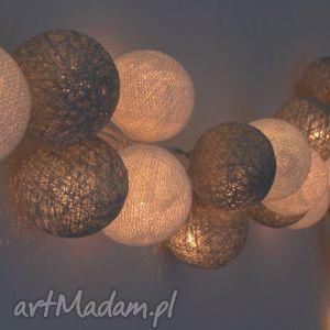pomysł na upominek Lampki Cotton Ball Lights Księżycowy Blask 10 qul, sypialnia