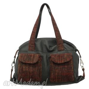 09-0005 czarna torba sportowa torebka fitness tit, modne, markowe, torebki