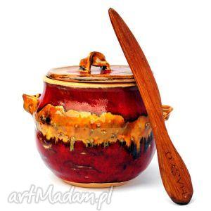 pojo v - ceramiczny pojemnik , ceramika, naczynie, pojemnik, użytkowe, unikatowe