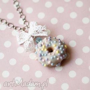 theresa ursulas jewelry naszyjnik pączek donut świeci w ciemności