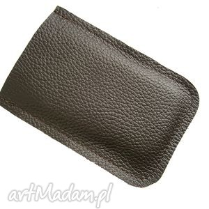 leather brown case, pokrowiec, telefon, smartfon, skóra, naturalna