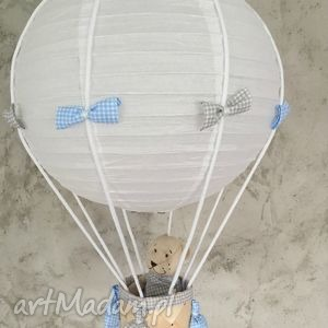 oryginaln lampa lamado latający miś, lampa, latający, balon, sufitowa, wisząca