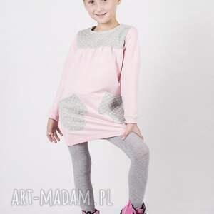 tunika dt01 leo, łapki, modna, stylowa dla dziecka