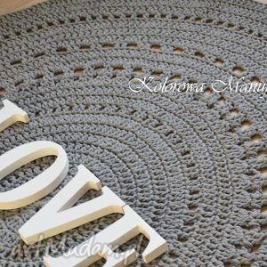 hand-made dywany dywan ażur grey 160