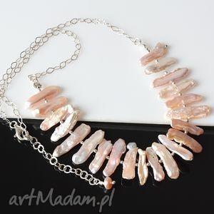 perły biwa - perły, biwa, srebro, błyszczący, delikatny