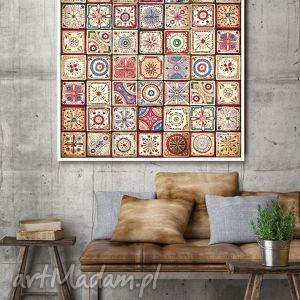 mozaika 50x50cm, mozaika, plakat, grafika dom