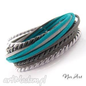bransoletka - suduu, rzemień, zamsz, sznurek, satynowy, satyna biżuteria