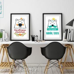 plakaty dla mamy i taty, mama, tata, prezent, swięta, autorskie, ilustracje